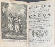 A NEW CYROPAEDIA; OR THE TRAVELS OF CYRUS. . With a Discourse on the Theology & Mythology of the Ancients. Tomo I (e II)